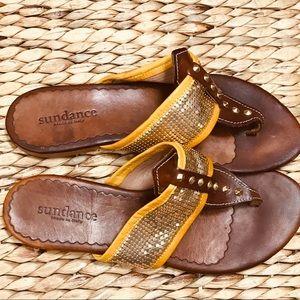 Sundance handmade Italy leather sandal Vera Gomma